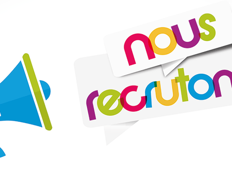 Nous recrutons toujours !