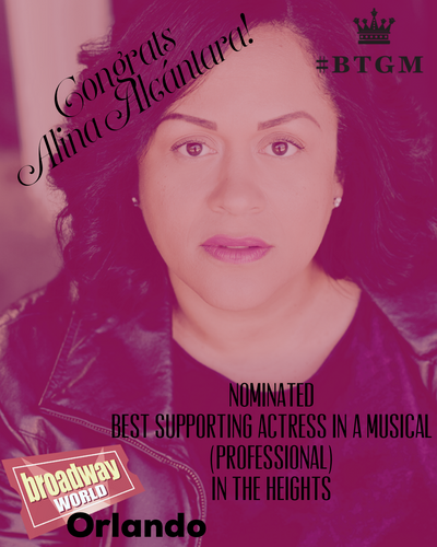 Alina | Broadway World | Best Supporting Actress