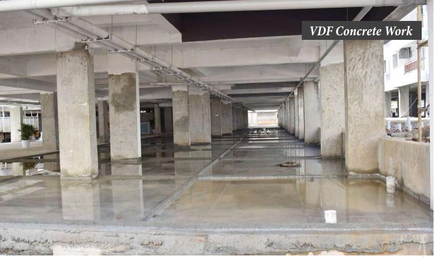 VDF concrete work 2 DCY