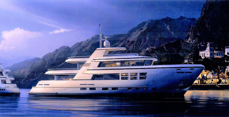 Explorer 34m by LCY Luxury Custom Yachts