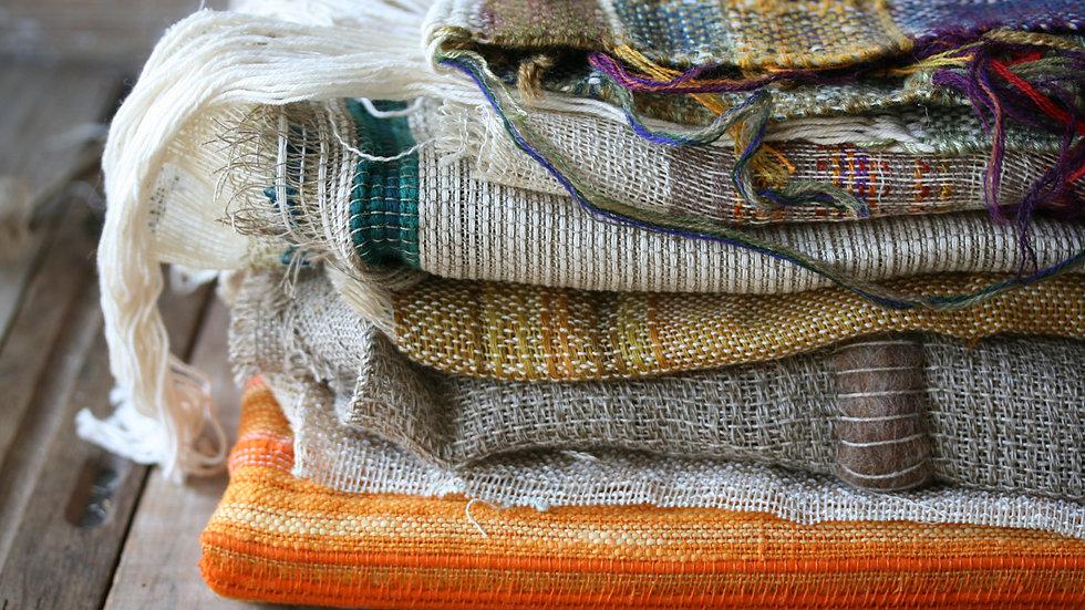 Tissage artisanal en lin