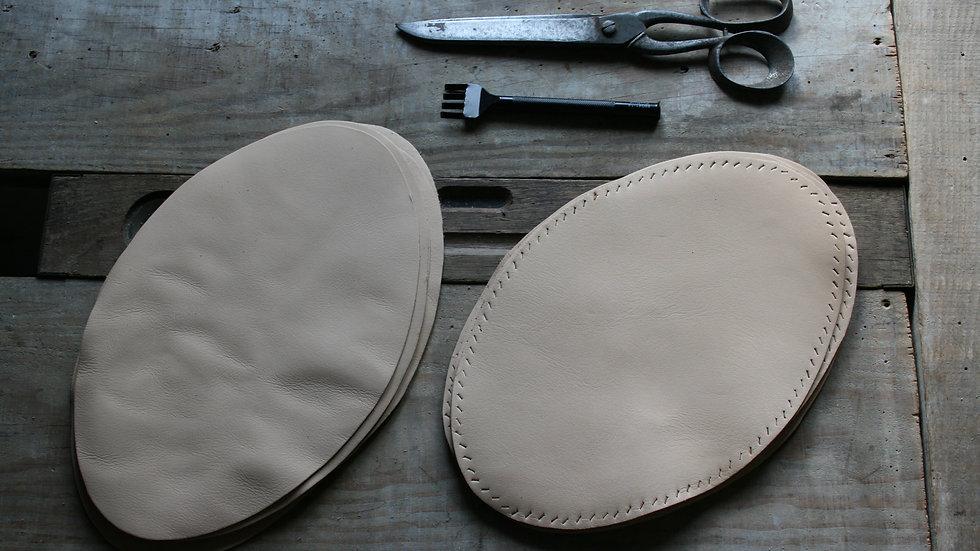 Fond de sac en cuir