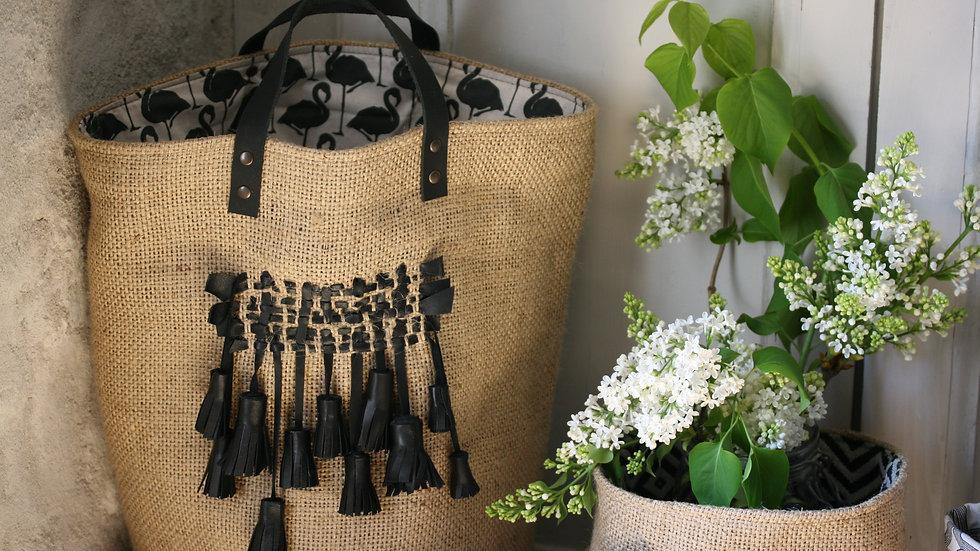 kit poignées de sac en cuir 35 cm