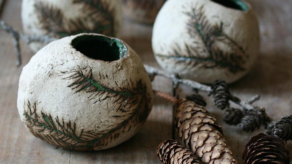 Petit vase de la forêt