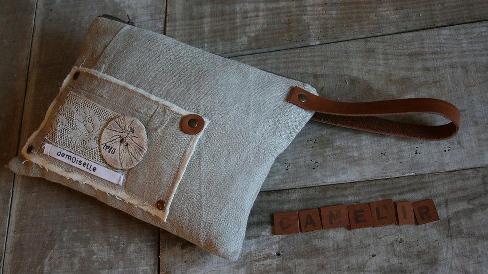 kit dragonne de sac en cuir 35 cm