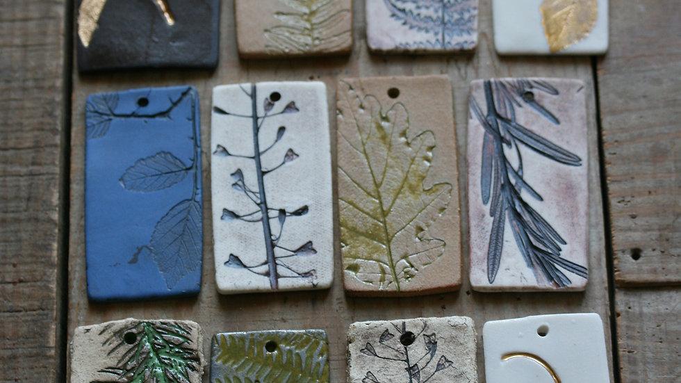 série 5 - TESSON échantillon en porcelaine herbie