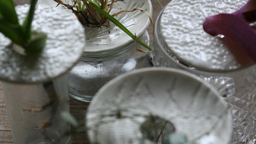 Bobèche en porcelaine spéciale bouture