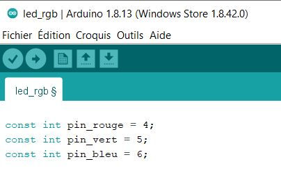 code avant setup branchement rgb led Tutoriel description bibliotheque 2 kit électronique débutant à monter Arduino tutoriel apprendre kit électronique explication meilleur composant