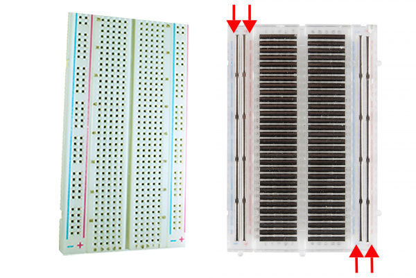 breadbord arduino tutoriel explication connexion kit électronique