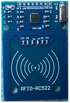 puce RFID tutoriel kit électronique explication description utilisation pass