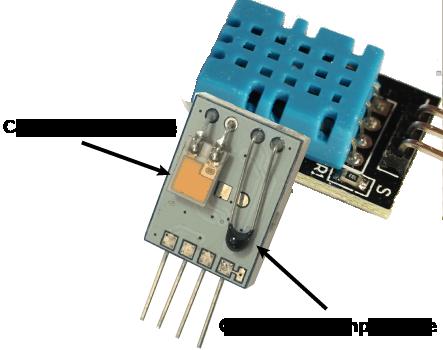 description apprentissage capteur humidité température kit électronique arduino tutoriel