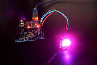led rgb Arduino uno description bibliotheque 2 kit électronique débutant à monter Arduino tutoriel apprendre kit électronique explication meilleur composant