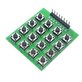matrice 16 bouton clavier électronique connexion ordinateur Combiner logique et créativité Apprentissage atout jeune lycéens étude description bibliotheque 2 kit électronique débutant à monter Arduino tutoriel apprendre kit électronique explication meilleur composant