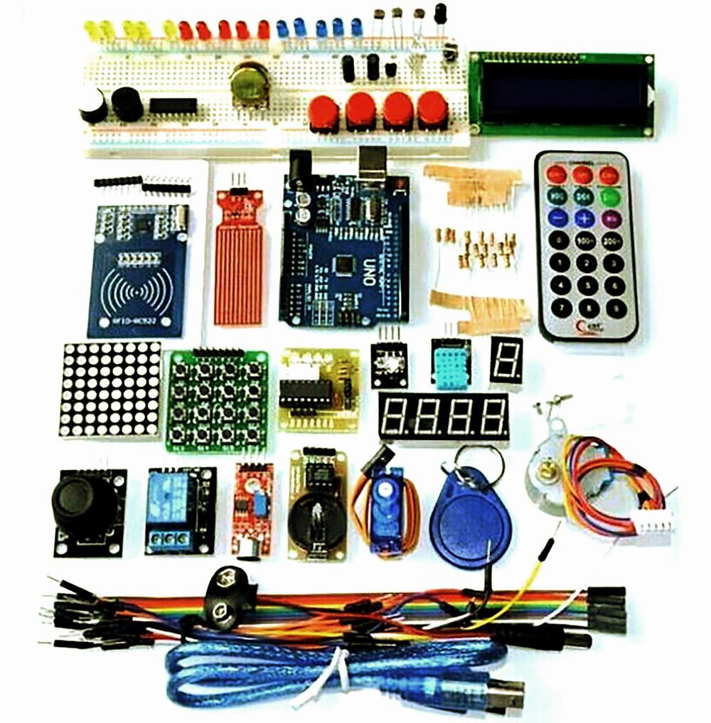 liste composants Arduino Combiner logique et créativité Apprentissage atout jeune lycéens étude description bibliotheque 2 kit électronique débutant à monter Arduino tutoriel apprendre kit électronique explication meilleur composant
