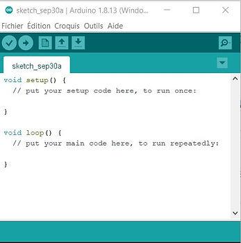 arduino page d'accueil tutoriel apprendre code instruction setup fabrication ArduinoJPG