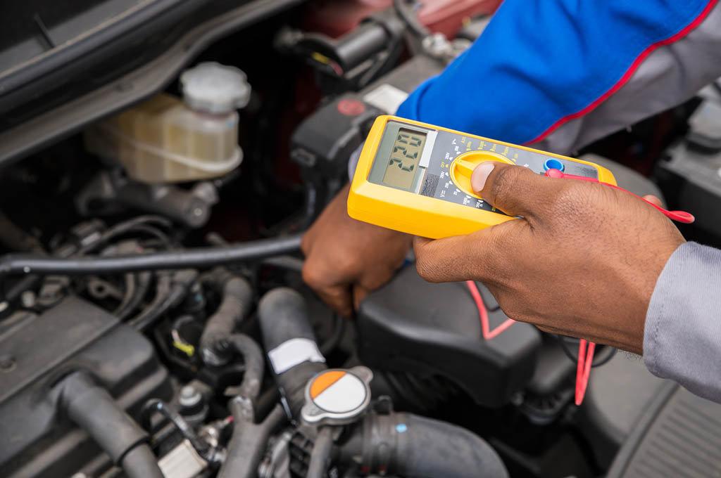 Controllo efficienza batteria