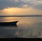 Barque sur étang