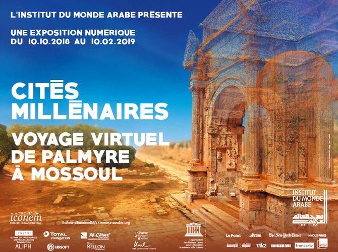 Exposition Cités Millénaires, à l'Institut du Monde Arabe