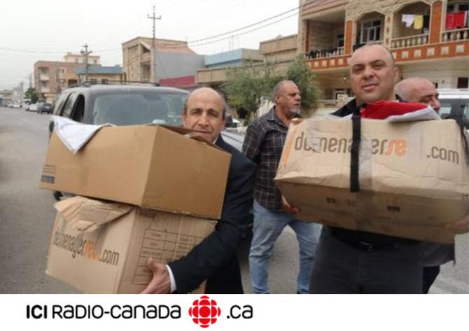"""""""Les chrétiens doivent rester en Irak"""" Radio Canada"""