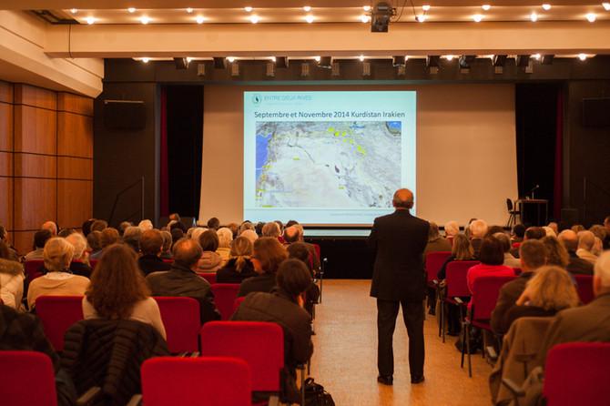 conférence du père Ephrem à Louveciennes