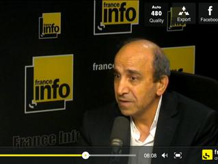 France Info : Témoignage d'Ephrem Azar