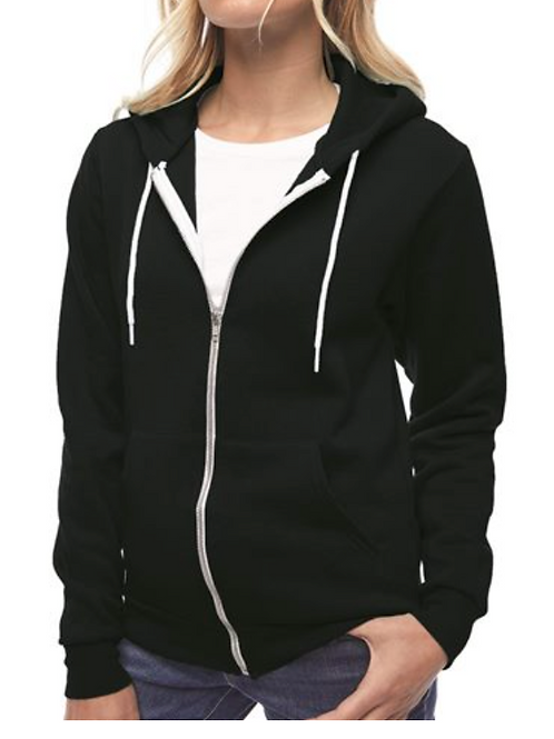 American Apparel Hoodie - Snakes and Lady
