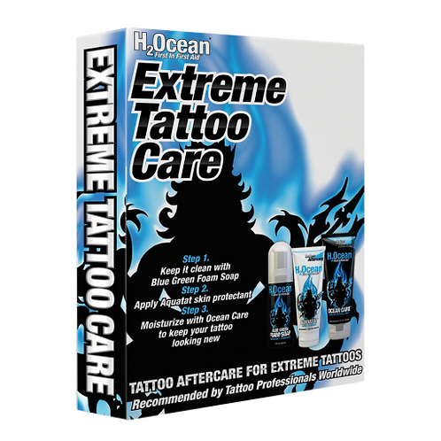 H2Ocean Extreme Tattoo Care Kit