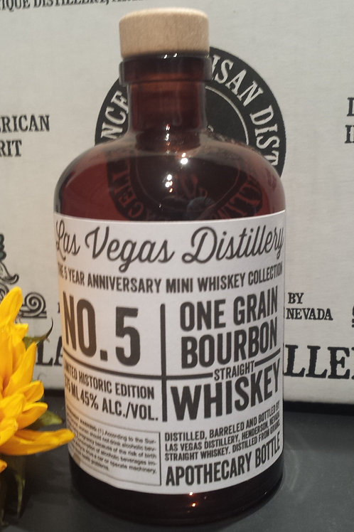 No.5 One Grain Bourbon 375 ml