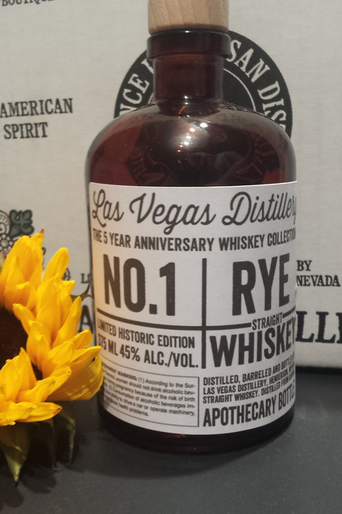 No.1 Rye Whiskey 375 ml