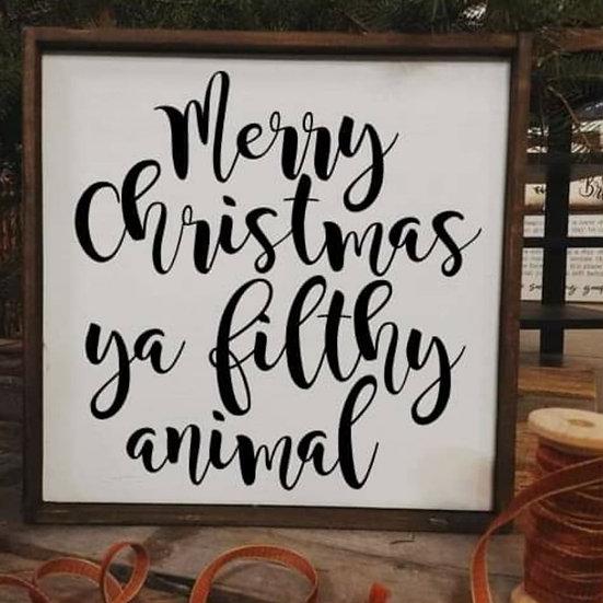 Merry christmas ya filthy animal (Kit 107)