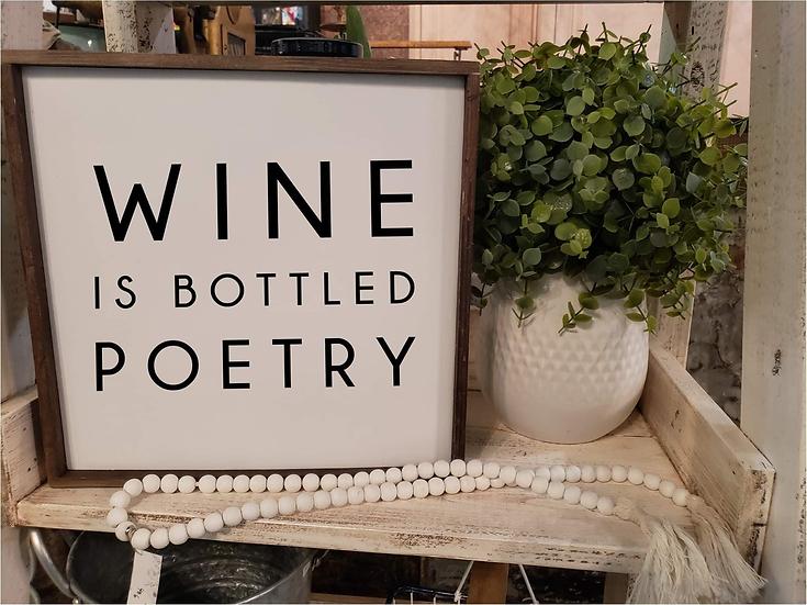 Wine Is Bottled Poetry (Kit 80)