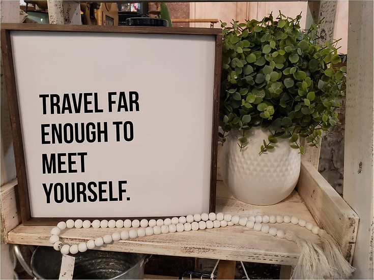 Travel Far Enough To Meet Yourself (Kit 6)