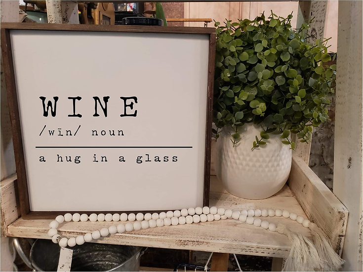 Wine, A Hug In A Glass (Kit 77)