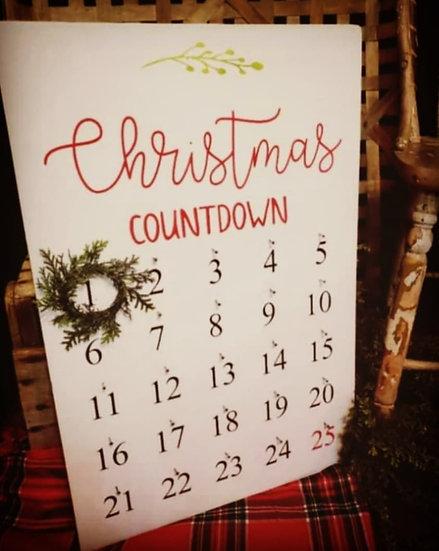 Christmas Countdown Calendar (Kit 126)
