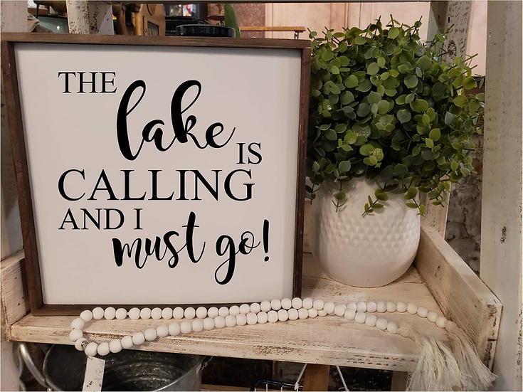 The Lake Is Calling And I Must Go (Kit 26)