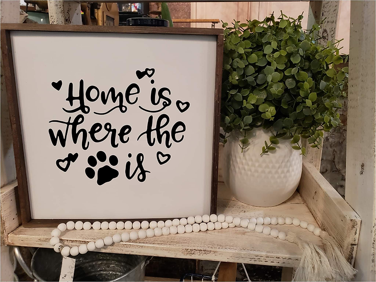 "Home Is Where The ""paw print"" Is (Kit 11)"