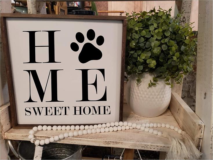 "Home Sweet Home ""paw print"" (Kit 15)"
