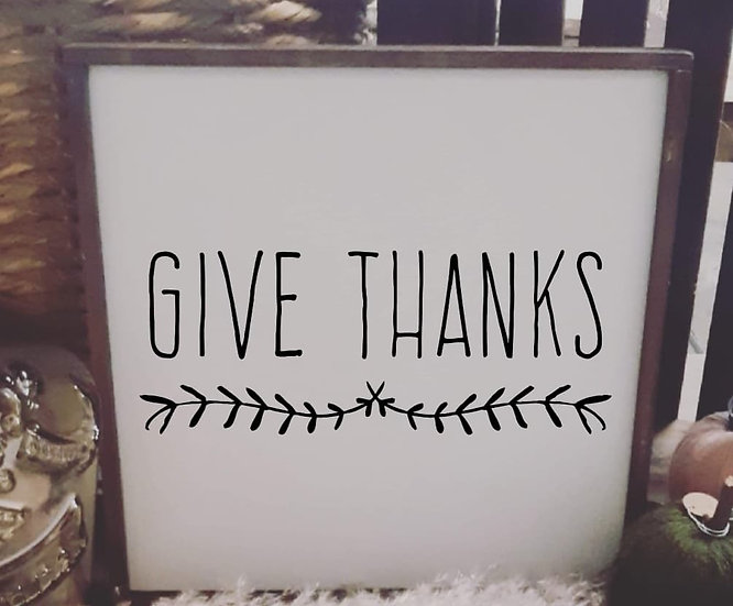 Give thanks (Kit 86)