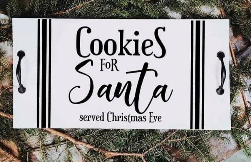 Cookies for Santa - Cookie Tray (Kit 120)