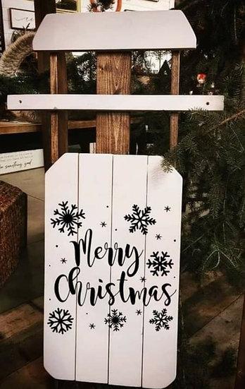 Merry Christmas - Sled (Kit 121)