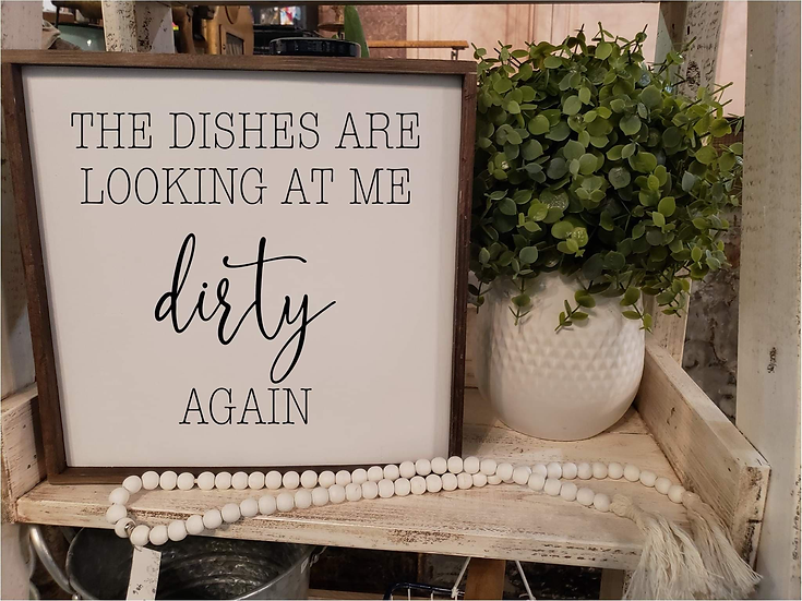 The Dishes Are Looking At Me Dirty Again (Kit 37)