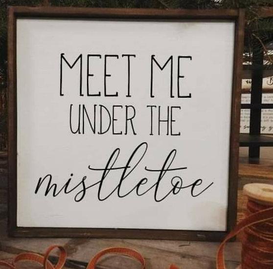 Meet me under the mistletoe (Kit 110)