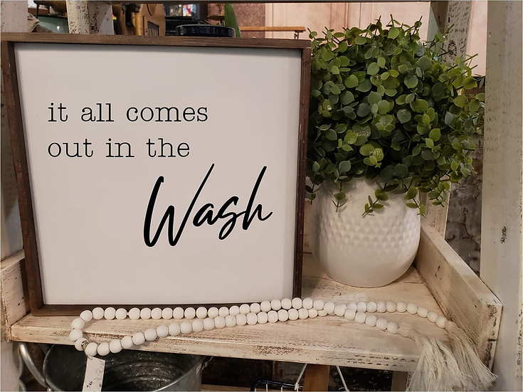 It All Comes Out In The Wash (Kit 16)