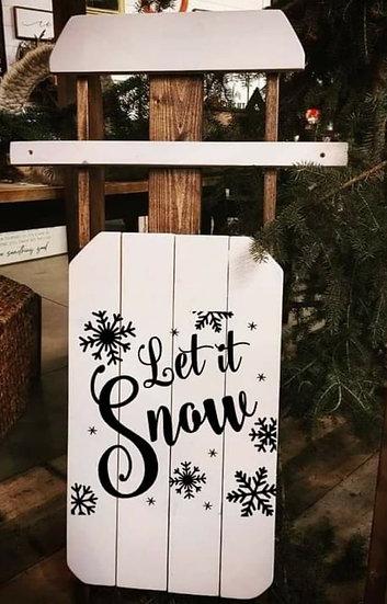 Let it Snow - Sled (Kit 122)