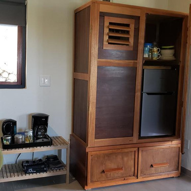 Coffee Fridge Corner