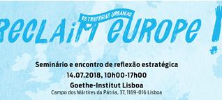 Reclaim Europe – Estratégias Urbanas