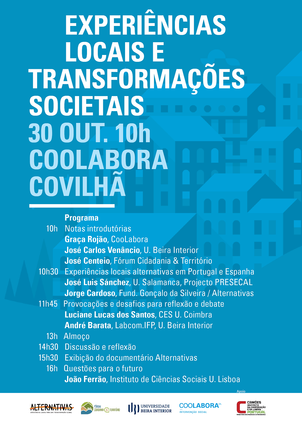 30 OUT. 10h | COOLABORA | COVILHÃ