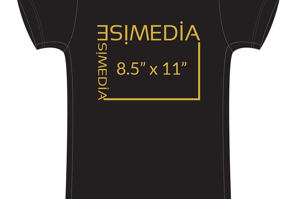 Custom T-shirts Black