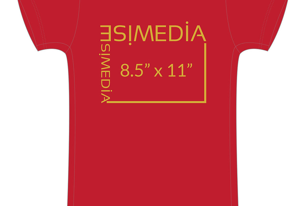 Custom T-shirts Red