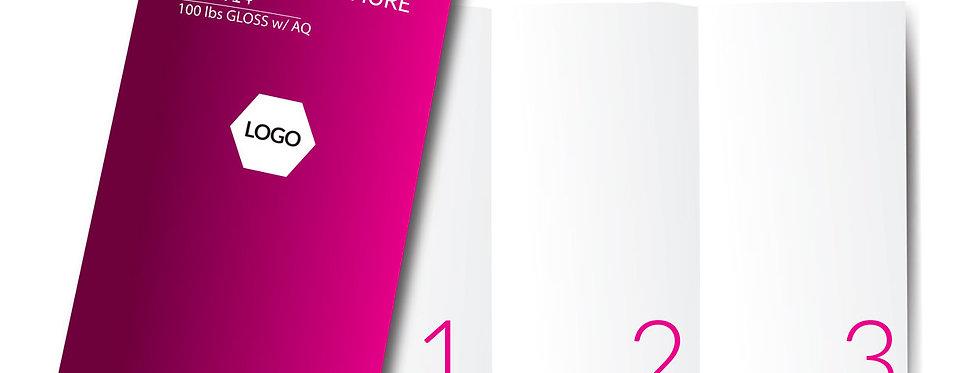 """Brochure 8.5"""" x 14"""""""